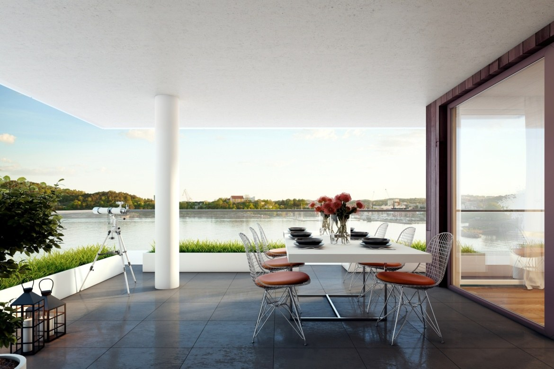 Wizualizacje architektoniczne. Zbiór wizualizacji stworzonych przez Meedo.