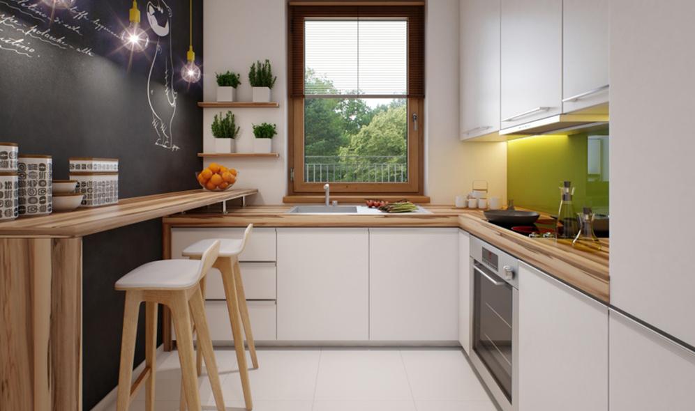 wizualizacje architektoniczne wnętrz kuchni Meedo