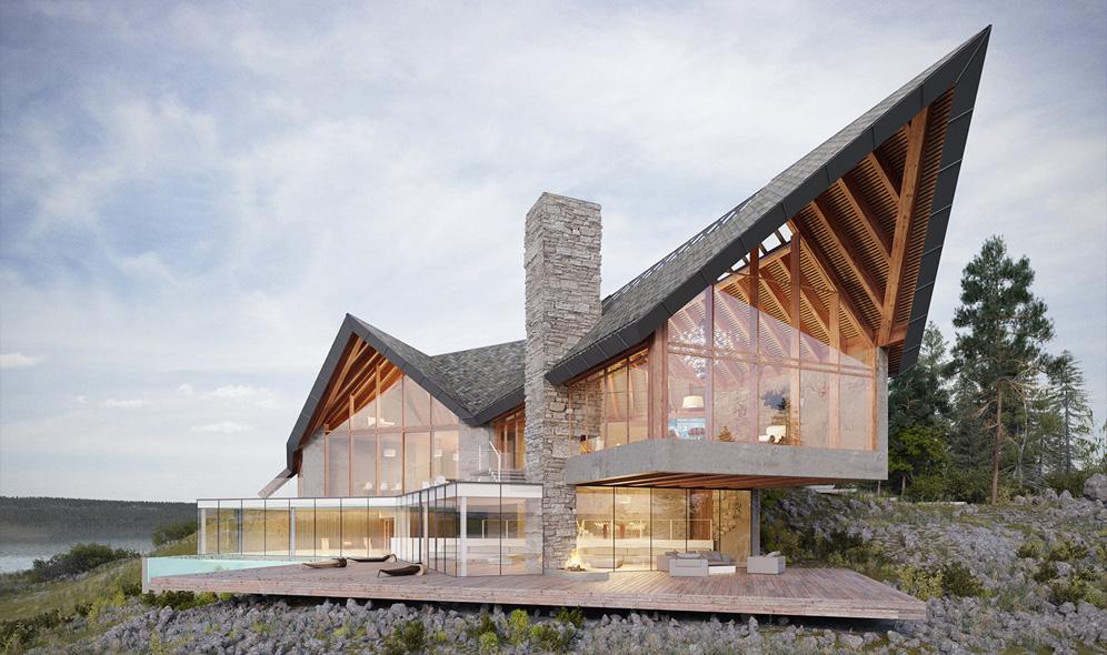 Projekty firmy Meedo tworzącej wizualizacje architektoniczne i wizualizacje produktów.