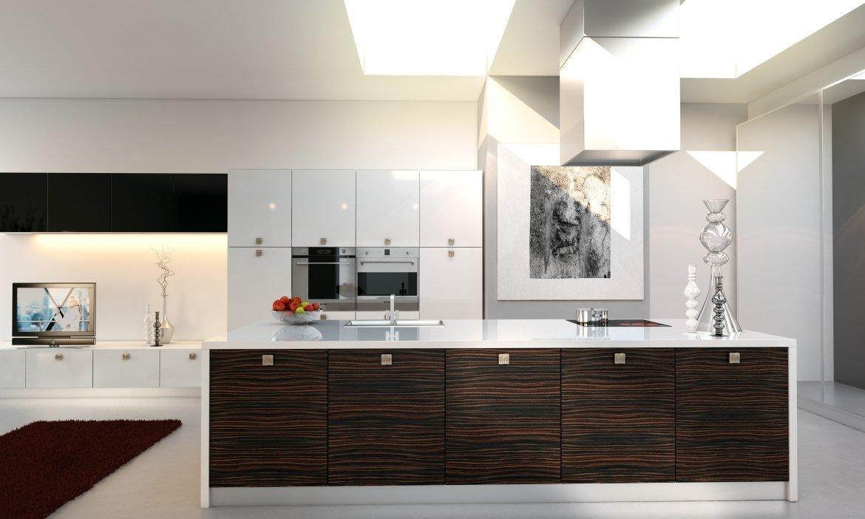 Wizualizacje kuchni. Zbiór wizualizacji stworzonych przez Meedo.